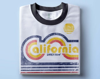 California CA Toddler Tee Made in Los Angeles Funny Baby T-Shirt