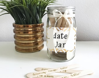 Date Night Mason Jar