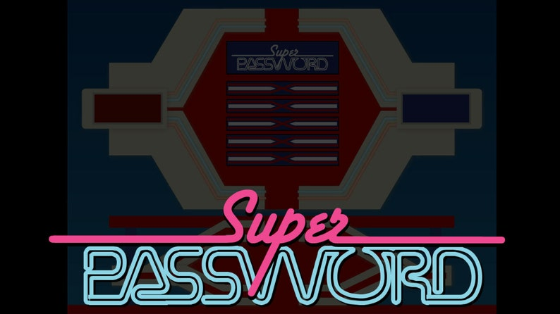 Super Password: Game Show Presentation Software for Windows  image 0