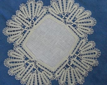 Lace, doily, lace trimming ', handmade