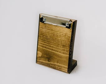 Wooden Clipboard Picture Holder
