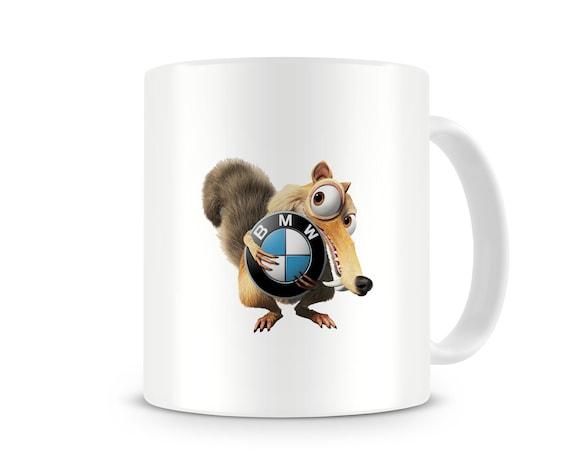 I Love Skoda Mug Car Logo Ceramic Cup Accessories Mens Tea Coffee Gift Printed