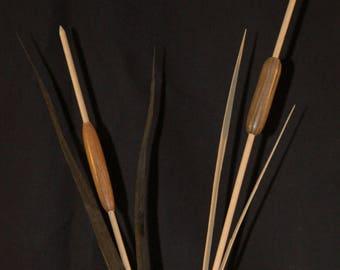 Wooden reeds
