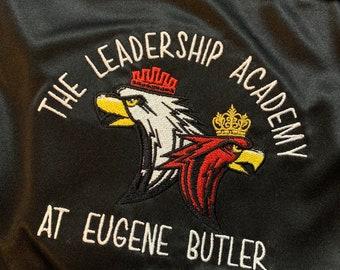 Eugene Butler Leadership Academy Embroidered Teacher Shirt -  Eugene Butler Leadership Academy Polo and  Quarter Zip