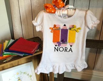 Sibling School Shirts - Back To School Girl/Boy Toddler Shirt