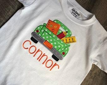 Back To School Girl/Boy Toddler Shirt, Pre-K, Preschool, Kindergarten, 1st Grade, 2nd Grade, 3rd Grade