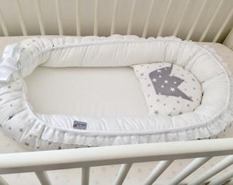 Baby nest gift baby new baby gift crib bedding baby nest etsy