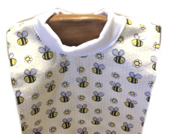 Large Pull Over Bee Bib