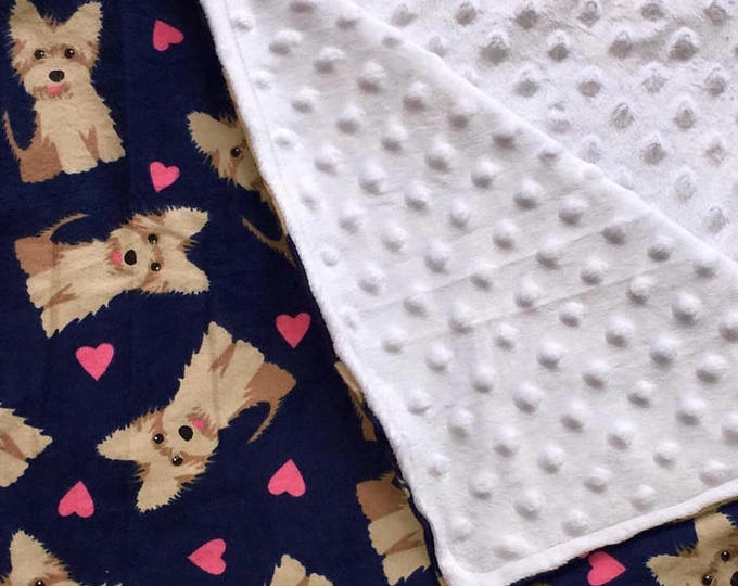 Minky Puppy Blanket