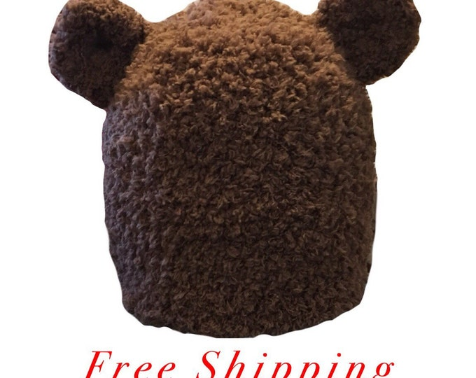 Bear Crochet Hat