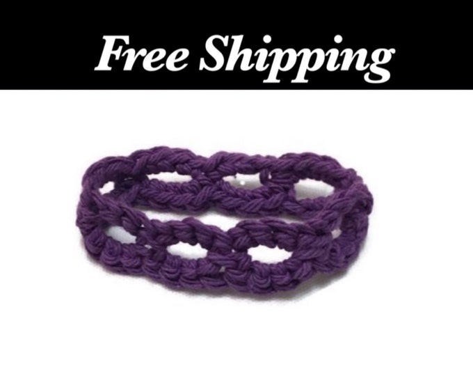 Stretchy Crochet Bracelet