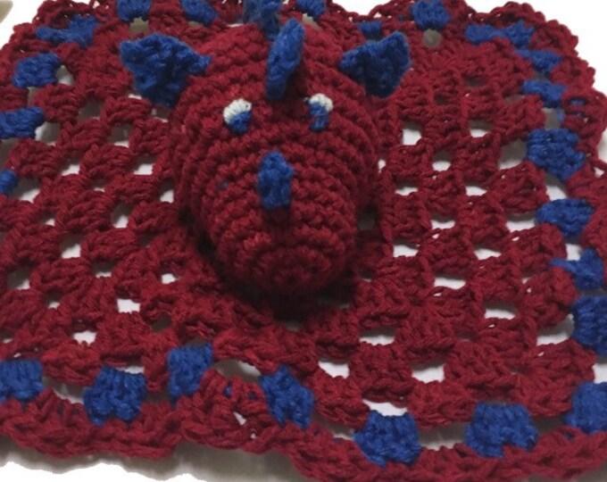 Dragon Crochet Lovey