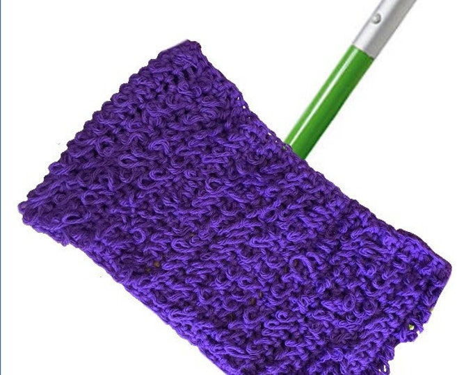 Crochet Reusable Mop Cover
