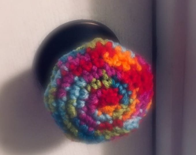 Crochet Door Knob Cover, Child Door Knob Cover, Door Handle Cover, Baby Proofing, Home Decor, Baby Room, Door Knob Cover, Baby Gift, Nursery