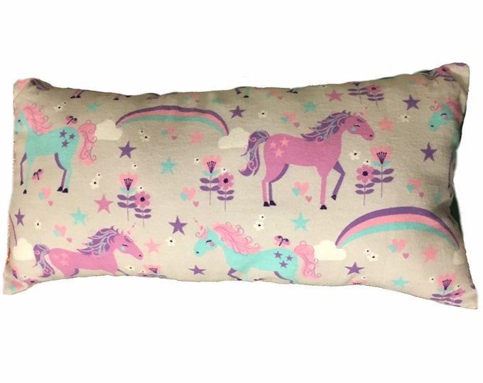 Unicorn Toddler Pillow