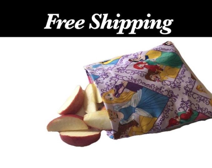 Disney Princess Reusable Snack Bags