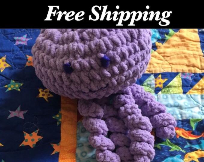 Soft Crochet Jellyfish