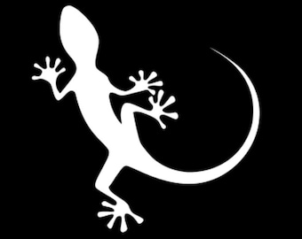 ff8e03d78d47 Gecko laptop decal | Etsy