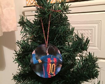 Lionel Messi Christmas Tree Decoration