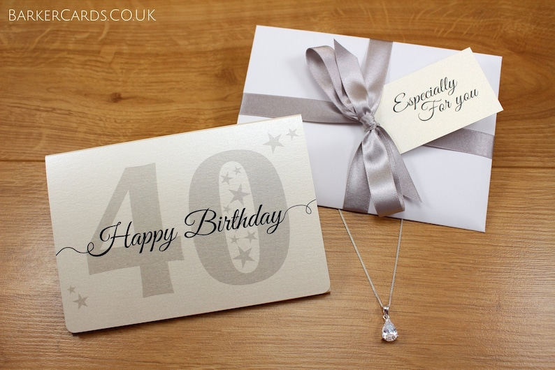 40th Birthday Gift for Her  40th Birthday Gifts for Women  image 0
