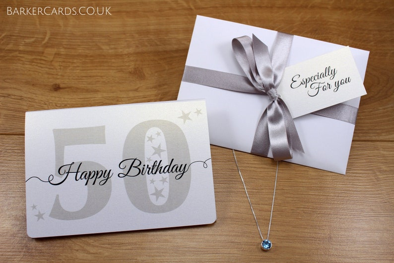 50th Birthday  Gift for Her  50th Birthday Gifts for Women  image 0