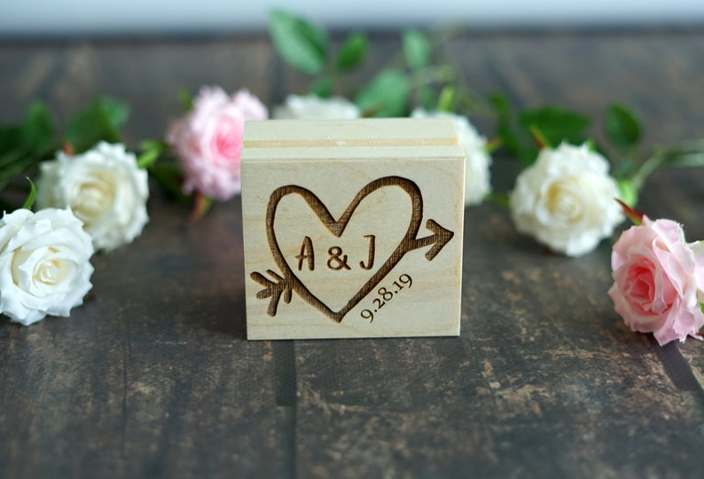 Rustic Wedding Wedding Gift Proposal Ring Box Engagement Gift Personalised Ring Box Custom Wedding Ring Box Wooden Bridal shower gift