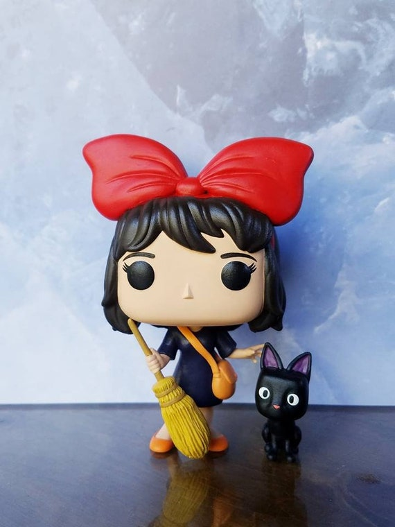 Kiki & Jiji (Kiki's Delivery Service) - Custom Funko POP Figures