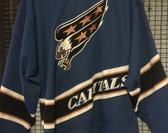 a79eace2298 XL Blue Starter Washington Capitals Screaming Eagle Jersey