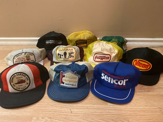 Lot of 10 Snapback Trucker Caps
