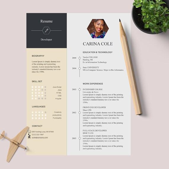 Mac-Seiten Lebenslauf Vorlage Lebenslauf Vorlage für Mac