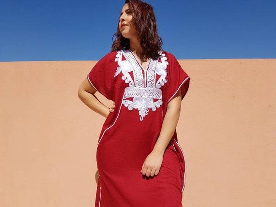 Marokkanische Kleid, marokkanische Kleidung, jellaba, langes Kleid, Geschenk für Frau