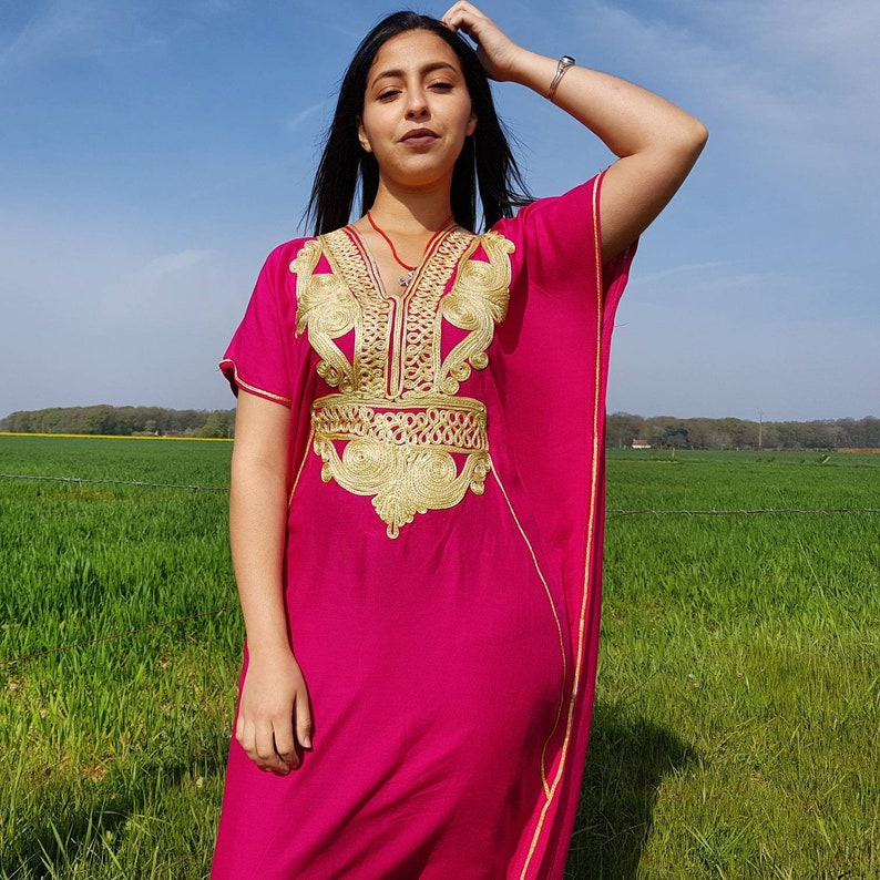 ce884473583 Caftan marocain robe marocaine djellaba pour femme djellaba