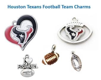 4 pieces HOUSTON TEXANS Charms