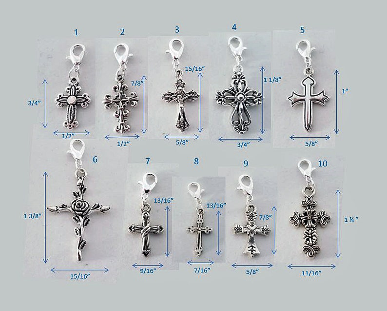 Cross Charms for Necklace Cross Charms for Crafts religious jewelry bracelets Religious Jewelry crucifix Cross Charms for bracelets