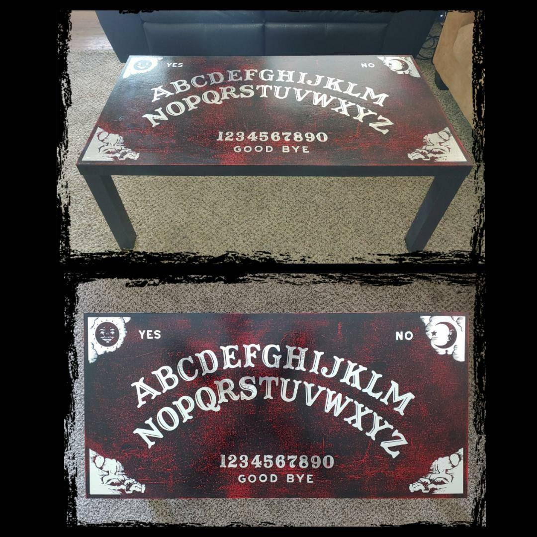 Ouija Board Coffee Table Custom Coffee Table Etsy
