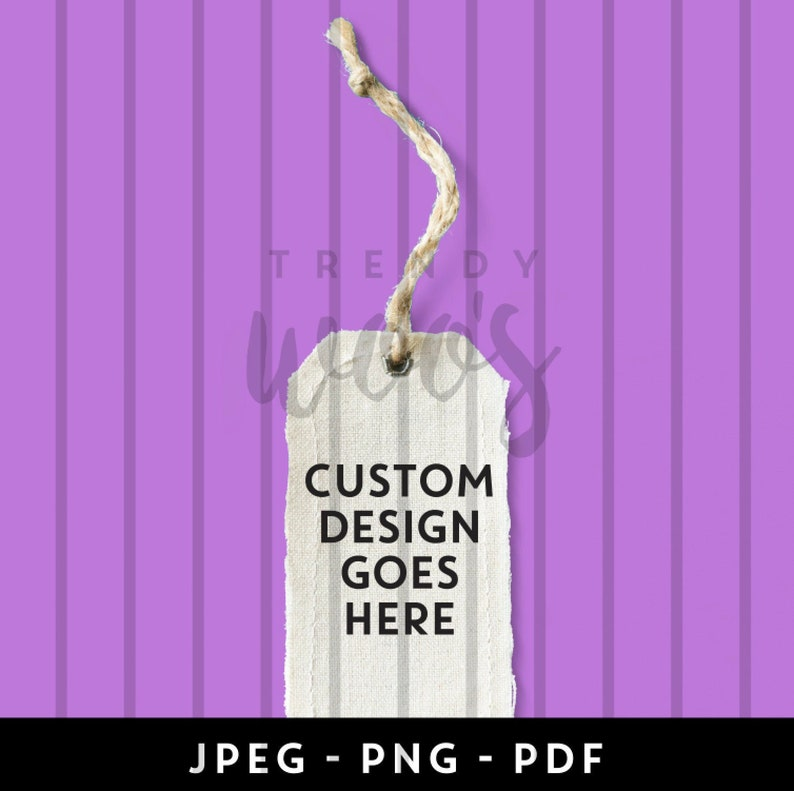CUSTOM DESIGN Care Label Digital Label, ready for print