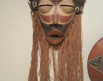 African Mask min. 40yrs old..more info to come