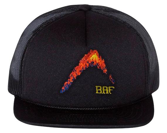 c05d9afa ... BAF graphin' - Premium Embroidered Snap-back Foam Trucker Cap