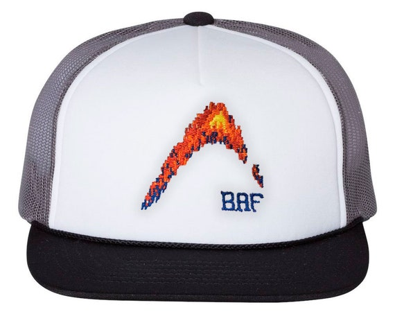 BAF graphin' -  Premium Embroidered Snap-back Foam Trucker Cap
