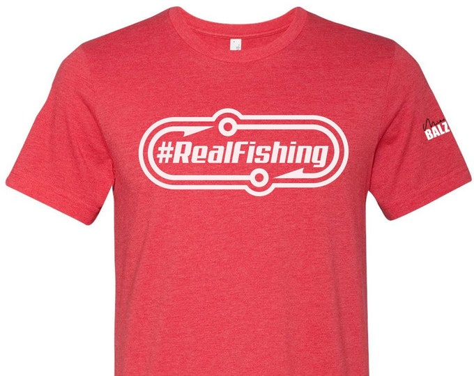 Mikey Balzz - #RealFishing T-shirts