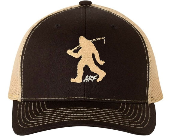 Bigfoot Fishing by Alex Rudd Fishing - ARF Embroidered Logo Trucker Caps and Hats