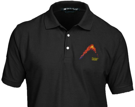BAF graphin' Premium Embroidered Polo - Men's and Ladies, Pima Piqué, Short-Sleeve Golf Shirt