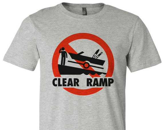 Clear Ramp - Bass Attitude Fishing T-shirts