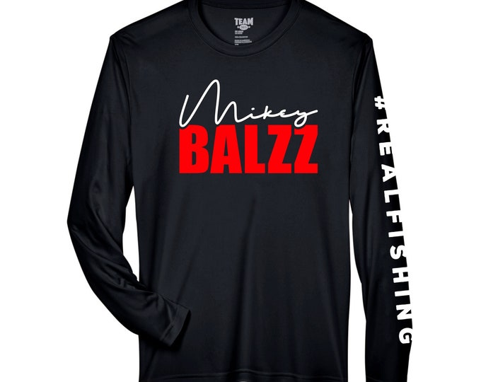 Mikey Balzz - Moisture-Wicking and UV Protection - Long Sleeve Shirt