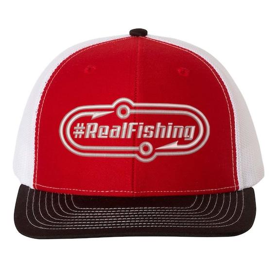 Mikey Balzz - #RealFishing - Trucker Caps and Hats