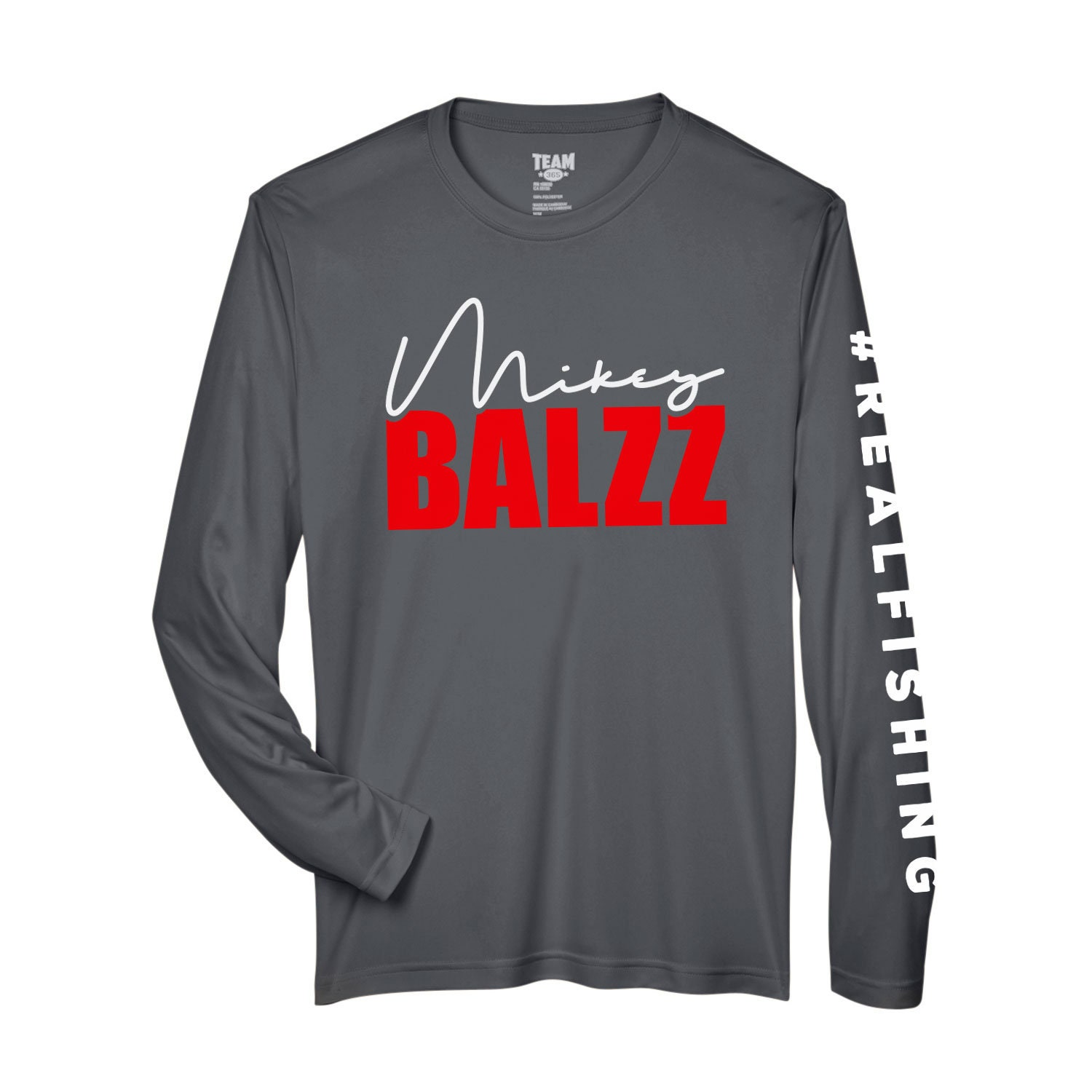 e693f9a0 Mikey Balzz - Moisture-Wicking and UV Protection - Long Sleeve Shirt