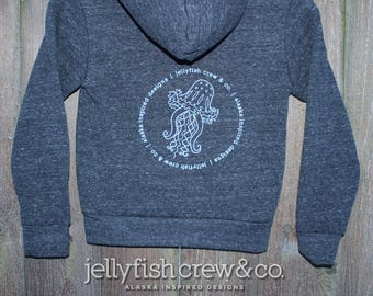 Jellyfish Crew & Co. Logo Hoody