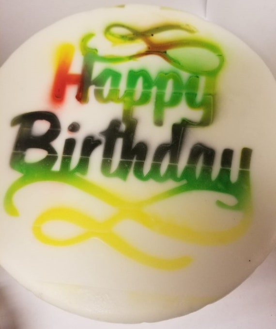 Amazing Jamaican Birthday Cake Fruit Cake Black Cake Etsy Funny Birthday Cards Online Inifodamsfinfo