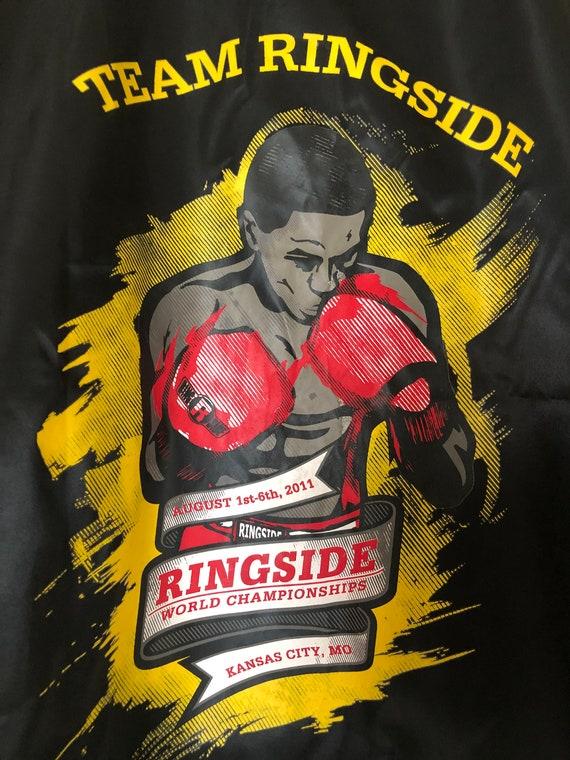 Boxing shirt ringside satin boxing shirt