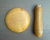 Vintage Darning Mushroom Treen detachable head ダーニングマッシュルーム